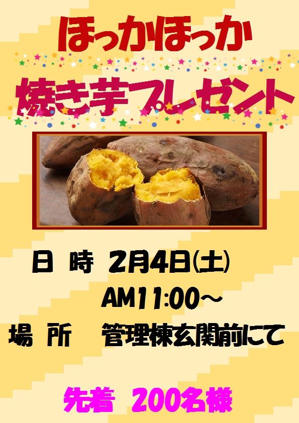 焼き芋2月