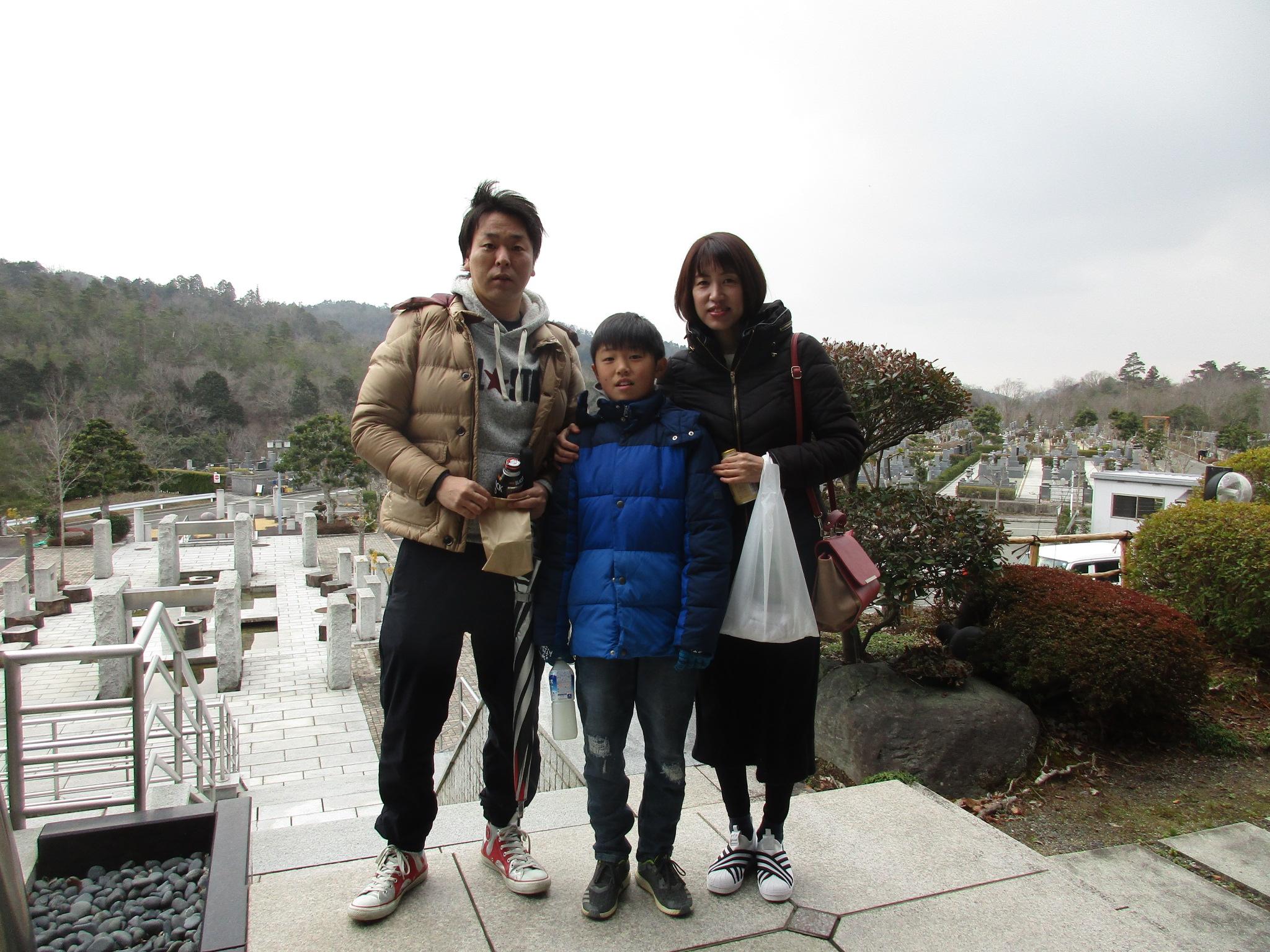 川西大霊苑 平成31年2月焼き芋プレゼントイベントの様子